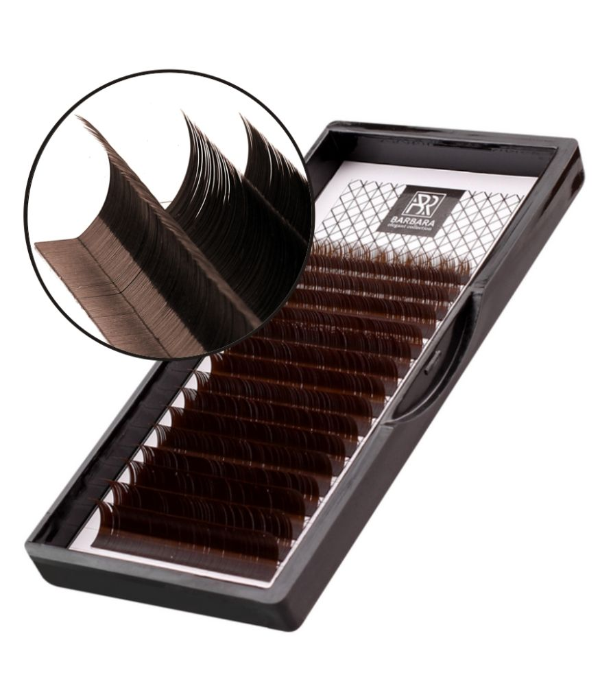 Dark chocolate (brown) D-0.07 7-15mm