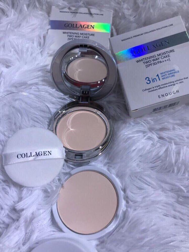 Пудра Collagen, №13 3in1