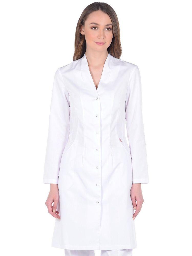 Медицинский халат белый