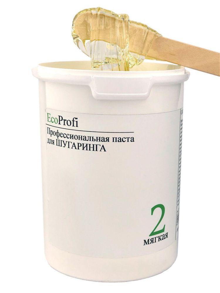 Профессиональная паста для шугаринга EcoProfi 1500гр мягкая