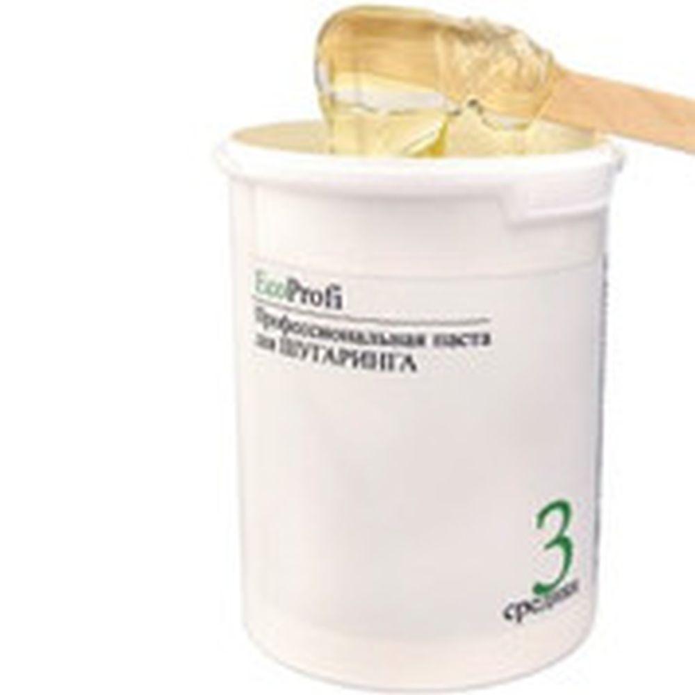 Профессиональная паста для шугаринга EcoProfi 1500гр средняя