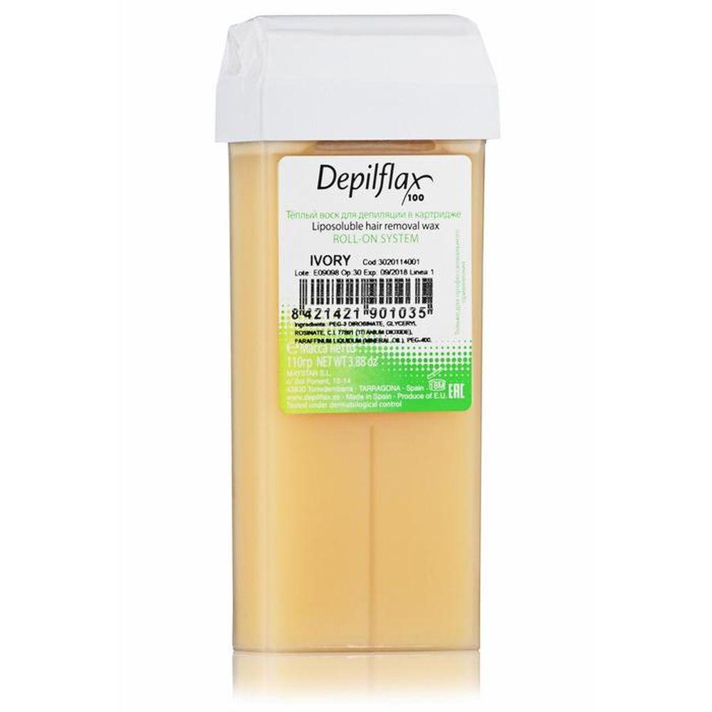 Воск DEPILFLAX цветной 110г ivory