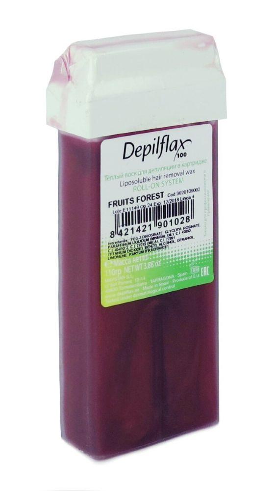Воск DEPILFLAX цветной 110г FRUITS FOREST