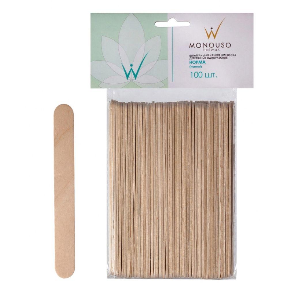 Шпатель деревянный ItaIwax middle