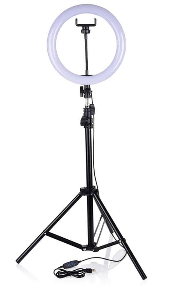 Лампа кольцевая D30см
