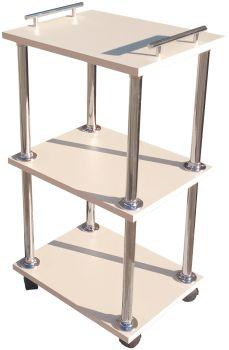 Столик-тележка косметолога Комфорт модель№2