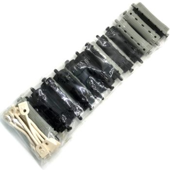 Коклюшки d11 серо-черные