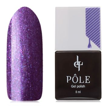 Гель-лак Pole №015, пурпурный шелк