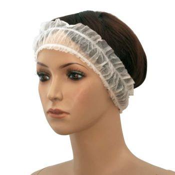 Фиксатор для волос с 2 резинками 10шт.