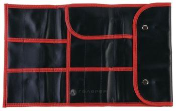 Dewal, Чехол для парикмахерских инструментов, черный, 37х23 см