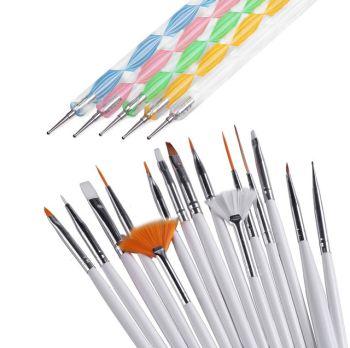 Кисть для дизайна Nail art BrushGF-23