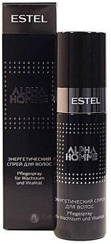 Спрей энергетический для волос для мужчин ALPHA HOMME 100 мл